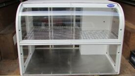 Food Display Counter Top Cabinet Ambient Cakes Pastries Pick up Yeovil