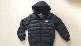 Black Nike winter puffa jacket, boys 13 - 15 years - £15 ono