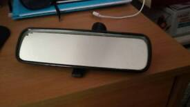 Ford Fiesta Mk6 rear view mirror