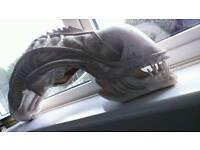 Alien Head Film Prop