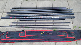 MAPs TKS Competition 101 13m Pole with 3 top kits and bag
