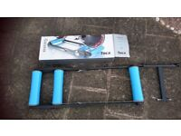 Tacx Galaxia Cycle Training Roller Complete With Front Support Stand.