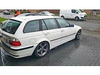 BMW E46 White touring 320i Must go ASAP