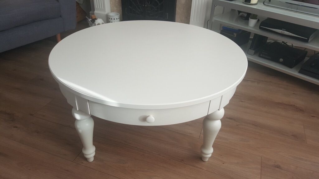 Large Ikea Isala Coffee Table In White For 90