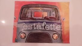 Genuine Renault Estafette Owners Manual / Handbook - Dealers Sales Brochure