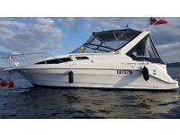 bayliner ciera 2855 5.7 v8 cruiser boat for sale