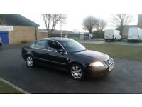 VW PASSAT SPORT 1.8 TURBO BLACK 100K LONG MOT 3 OWNERS DRIVES WELL NO OFFERS SWAPZ PART EX WELCOME