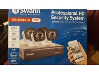 Swann 4 Camera HD Security System
