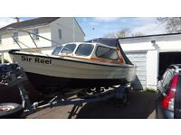 Marina 17ft boat with choice of engines