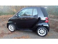 SMART CAR FORTWO PASSION CONVERTIBLE MHD AUTO WITH SATNAV