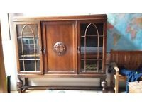 beautiful antique cabinet