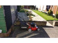 Cobra Self Propelled Petrol Lawn Mower, Large Lawns, Model M46SPB