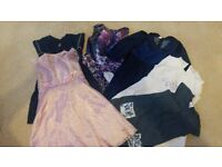 bag of clothes for girls 3-4, 4-5