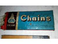 Vintage Bicycles chains