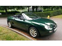 MGF 1.6, 51 PLATE, ONLY 55000 GENUINE MILES