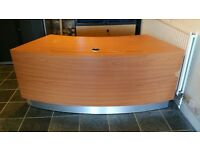 CURVED OFFICE / RECEPTION DESK / TABLE