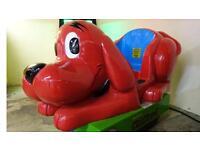 Kiddie ride machine