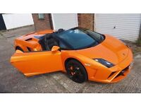Chauffeur driven Lamborghini for your special day - wedding / event / day out / birthday etc