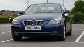BMW 2007 Blue 525D 3.0 Lt Sport LCI