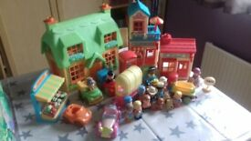 ELC Happyland Village and Storage box