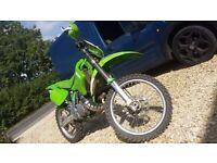 Kawasaki kx 250 2 stroke 99/00