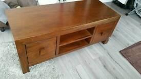 Mango wood tv cabinet