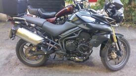 12 Months MOT fully loaded Triumph Tiger 800
