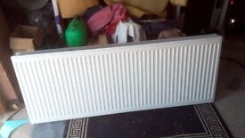 Radiator Large Double Convector 1600 X 600 with valves TRV and brackets VGC