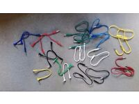 """1/4"""" MONO Jack Patch Leads / Patch cables 60cm and 25 cm long (26 leads in total)"""