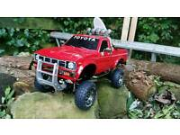 Radio controlled rc Toyota Hilux High Lift