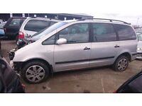 2003 FORD GALAXY GHIA, 1.9 TDDI, BREAKING FOR PARTS ONLY, POSTAGE AVAILABLE NATIONWIDE
