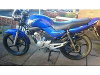 YAMAHA YBR 125cc 2007 Very Clean Only 8600 Miles From New