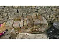 Reclaimed bricks free to collect