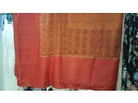 Indian Silk Bedspread King Size / Throw / Wall Hanging