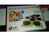 GLASSES 3D LG BRAND NEW!!!