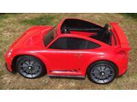 Kids Large Porsche 911 ride on car 12volt
