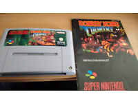 donkey kong country snes pal