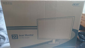 """Details about Acer S S220HQLBbd 21.5"""" Widescreen LCD Monitor"""