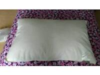 Downland duck feather pillows X 4 new