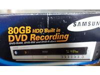 Samsung DVD HR720 80 GB HDD DVD Recorder