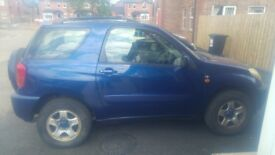 TOYOTA RAV4 2003 3 doors