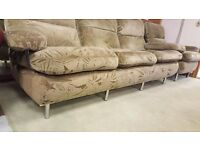 3 seater and single arm chair - Great Condition