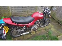 Lifan LF125-J 125CC (180cc big bore kit) 2014 Low Millage. Collection WEST BROMWICH
