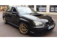2003 BLACK SUBARU IMPREZA WRX 2.0 TURBO AWD 4WD 4x4, STI SPOILER, PSH, HPI CLEAR, NEW CLUTCH NICE