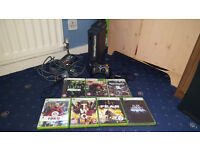 Xbox 360 120GB Bundle (17 Games, Gioteck Headset, Official Controller)