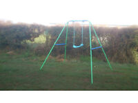 FREE to collector - child's garden swing