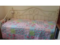 French Style Day Bed - Trundle and Mattresses included- As NEW Condition