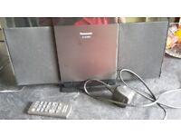 Panasonic SC-HC28DB Compact Stereo system w remote