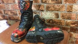 Gothic New Rock Boots Size 43