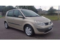 SCENIC 1.6 AUTOMATIC IN EXCELLENT CONDITION. LONG MOT. FULL SERVICE HISTORY. PREVIOUS MOTS AVAILABLE